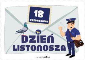 Dzień Poczty Polskiej -Dzień Listonosza